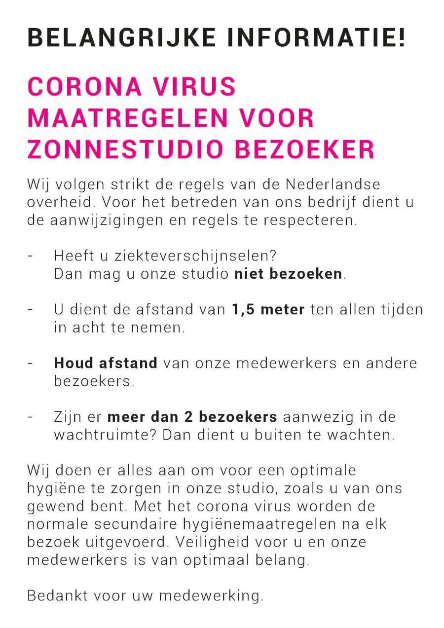 Corona poster NL