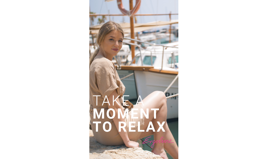 Take a moment to relax